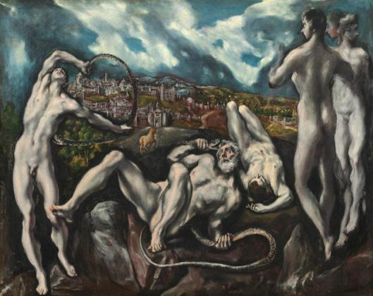 El Greco Laocoon 1610 14 National Gallery of Art Washington NGA
