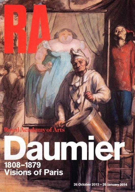 Honore Daumier Royal Academy London poster