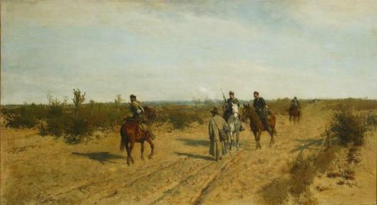 Maksymilian Gierymski Patrol powstanczy 1872 73 Muzeum Narodowe w Warszawie
