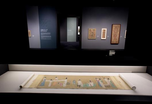 Masterpieces of Chinese Painting 700-1900 exhibition view Victoria and Albert Museum London