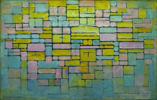 Piet Mondrian Composition no. 5 Museum of Modern Art MoMA NY
