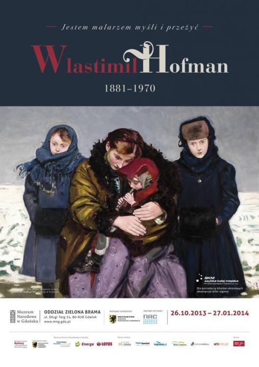 Vlastimil Hofman poster Muzeum Narodowe w Gdansku