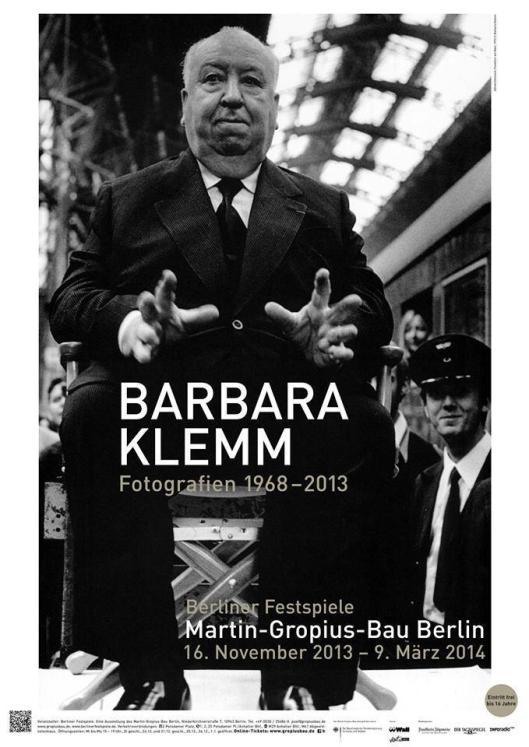 Barbara Klemm Fotografien 1968-2013 poster