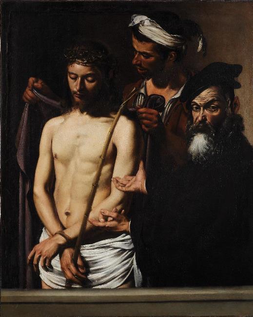 Caravaggio Ecce Homo ca 1605 Palazzo Bianco Genoa
