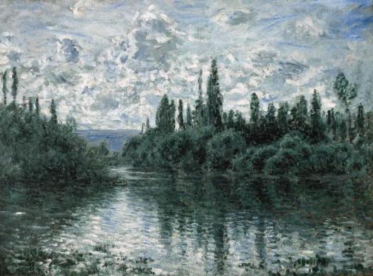 Claude Monet Bras de la Seine près de Vétheuil ca 1878 Pérez Simon Collection Mexico