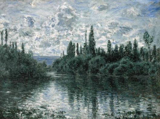 Claude Monet Bras de la Seine près de Vétheuil ca 1878 Pérez Simon Collection Mexico