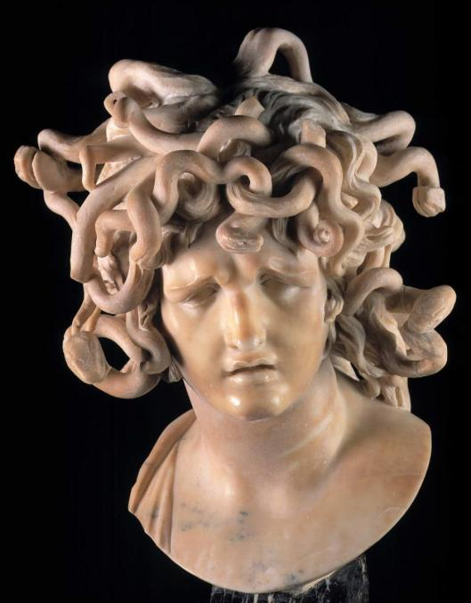 Gian Lorenzo Bernini Medusa ca 1635 Musei Capitolini Rome