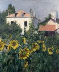 Gustave Caillebotte Les Soleils jardin du Petit-Gennevilliers ca 1885 priv coll
