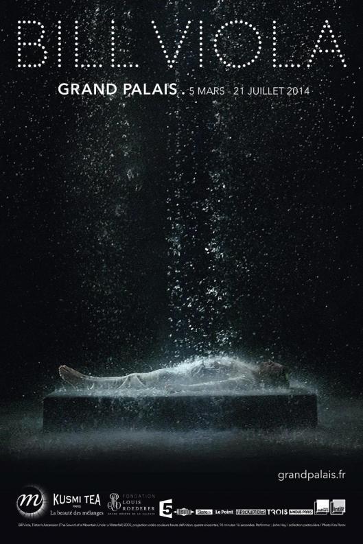 bill viola grand palais poster
