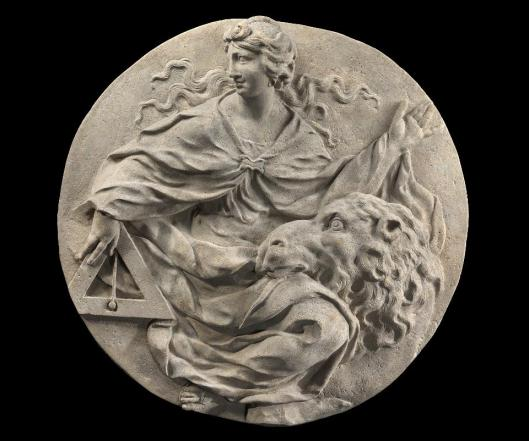 Andreas Schlüter Allegory of Discretion ca 1703 Bode Museum Berlin