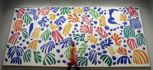 Henri Matisse The Parakeet and the Mermaid 1952 Stedelijk Museum Amsterdam exhibition view