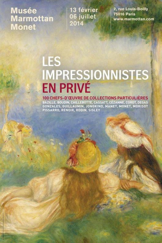 Les Impressionnistes en privé poster
