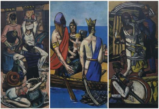 Max Beckmann Departure 1932 35 MoMA New York