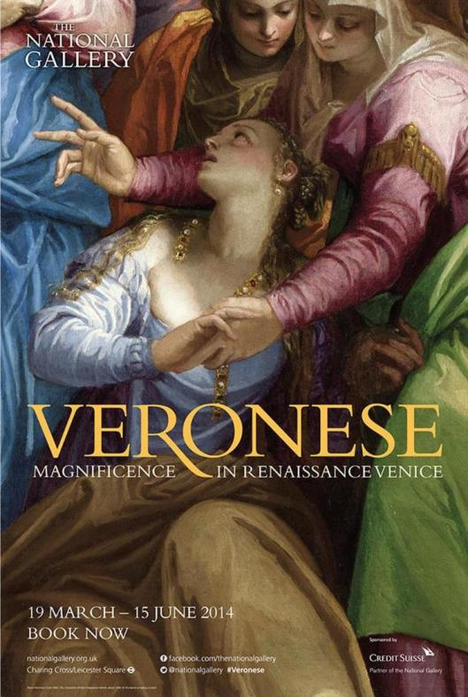 Veronese National Gallery London poster