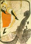 Henri de Toulouse-Lautrec Jane Avril 1893 lithograph