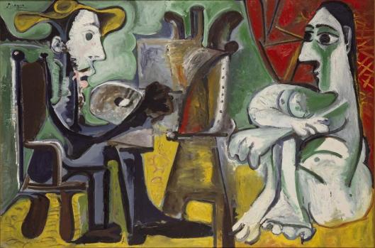 Pablo Picasso Painter and his Model 1963 Centro de Reina Sofia Madrid