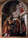 Paolo Veronese Sts Geminianus and Severus ca 1560 Galleria Estense Modena