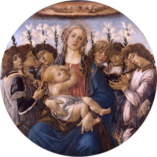 Sandro Botticelli Tondo Raczynski 1477 Berlin