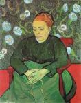 Vincent van Gogh Augustine Roulin 1889 Stedelijk Museum Amsterdam
