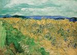 Vincent van Gogh Wheatfield with Cornflowers 1890 Fondation Beyeler Basel