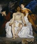 Edouard Manet Dead Christ with Angels 1864 Met New York