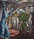 El Greco Vision of Saint John ca 1608 22 Met New York
