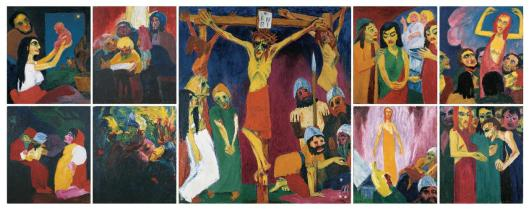 Emil Nolde The Life of Christ 1911 12 Nolde Stiftung Seebull