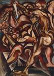 Jackson Pollock Naked Man with Knife ca 1938 40 Tate London