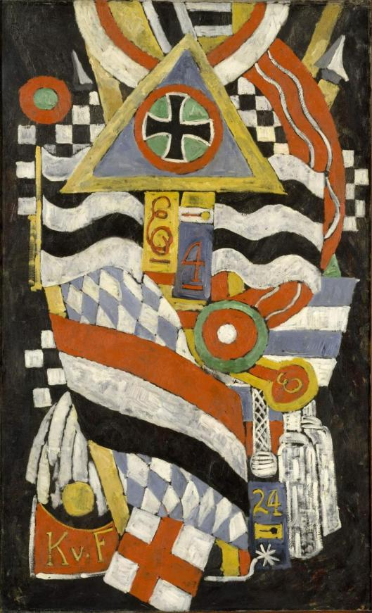 Marsden Hartley Portrait of a German Officer 1914 Met New York