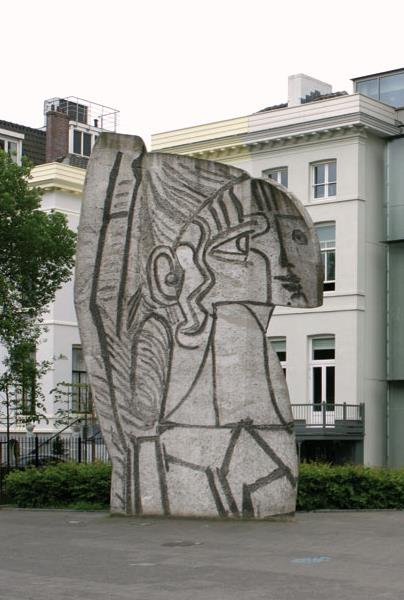 Pablo Picasso Carl Nesjar Sylvette 1970 Rotterdam Museum Boijmans Van Beuningen