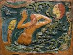 Paul Gauguin Be Mysterious 1890 carved and painted lime wood Musée d'Orsay Paris