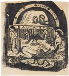 Paul Gauguin Te atua (The Gods) state II-II Vollard Suite 1899 woodcut