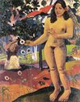 Paul Gauguin Te nave nave fenua The Delightful Land 1892 Ohara Museum of Art Kurashiki