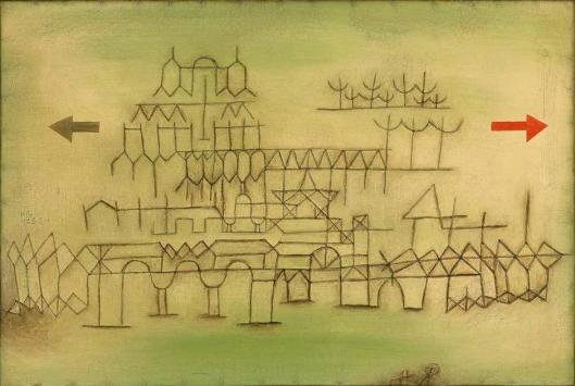 Paul Klee Palace in passing 1928 Berlin Museum Berggruen