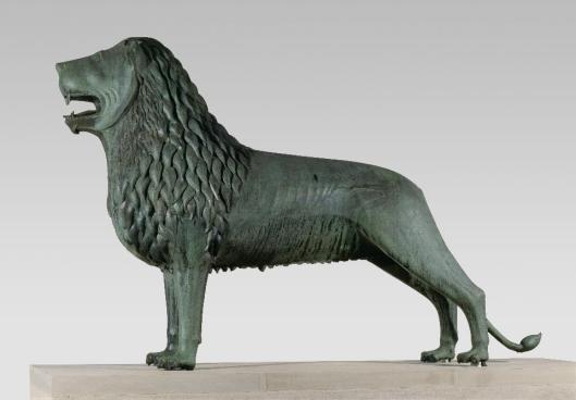 Brunswick Lion 1160s bronze Herzog Anton Ulrich-Museum Braunschweig