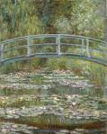 Claude Monet Bridge over a Pond of Water Lilies 1899 Metropolitan Museum of Art New York