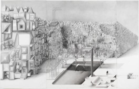 Paul Noble Lidonob 2000 graphite on paper Tate London