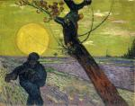 Vincent van Gogh Sower with Setting Sun 1888 Foundation E. G. Bührle Zurich