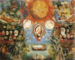 Frida Kahlo Moses or Solar Core 1945 priv coll Houston Texas