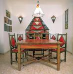 Gerardo Dottori Cimino Home Dining Room Set early 1930s priv coll