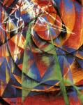 Giacomo Balla Mercury Passing Before the Sun 1914 Gianni Mattioli Collection loan Peggy Guggenheim Collection Venice