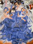Gino Severini Blue Dancer (Ballerina blu) 1912 Gianni Mattioli Collection loan Peggy Guggenheim Collection Venice