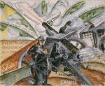 Gino Severini Cannons in Action 1915 Paolo Baldacci Gallery New York