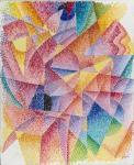 Gino Severini Spherical Expansion of Light ca 1914 Munson-Williams-Proctor Arts Institute New York