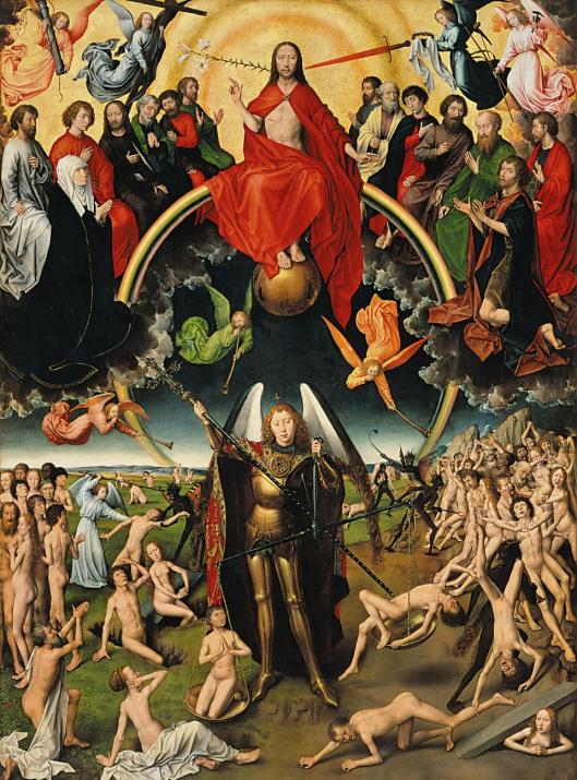 Hans Memling Last Judgment Triptych (central panel) 1467 73 National Museum in Gdansk