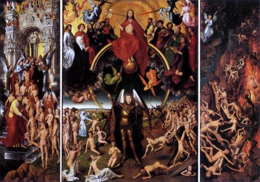 Hans Memling Last Judgment Triptych (open) 1467 73 National Museum in Gdansk