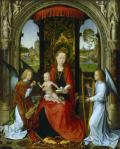 Hans Memling Madonna and Child with Angels after 1479 or 1485 90 National Gallery of Art Washington NGA