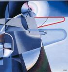 Osvaldo Peruzzi Aeropittura (Aeropittura) ca 1934 Galleria d'Arte Moderna di Roma Capitale