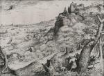 Pieter Bruegel the Elder Rabbit hunt 1560 etching