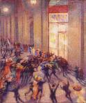 Umberto Boccioni Riot in the Galleria (Rissa in Galleria) 1910 Pinocoteca di Brera Milan